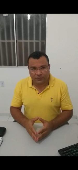 Prefeito de Redenção do Gurguéia Ângelo Sena testa positivo para o Covid-19