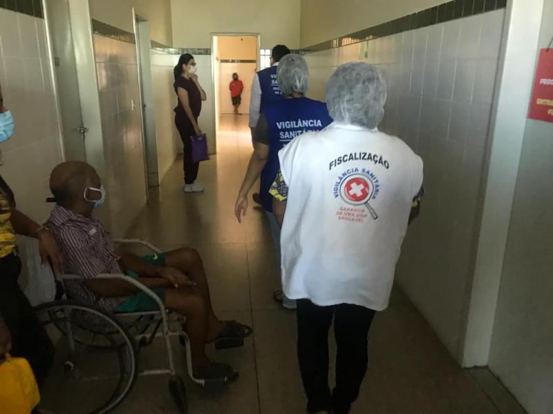 Vigilância Sanitária de Floriano realiza inspeção em clínica para tratamento de dialíticos