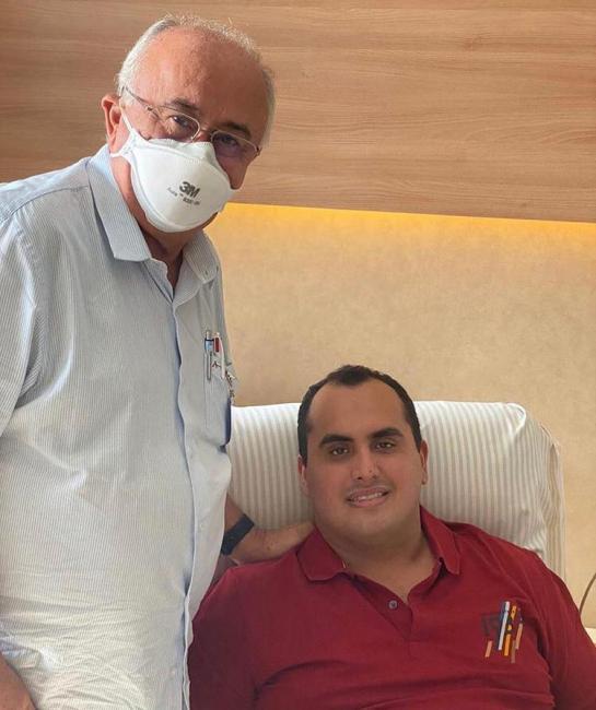 Deputado Georgiano Neto vence a Covid-19 e agradece a Deus pela recuperação