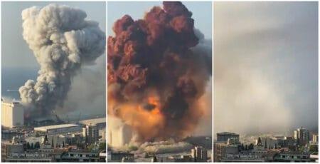 Explosão de grande proporção em Beirute, no Líbano, choca o mundo; vídeos