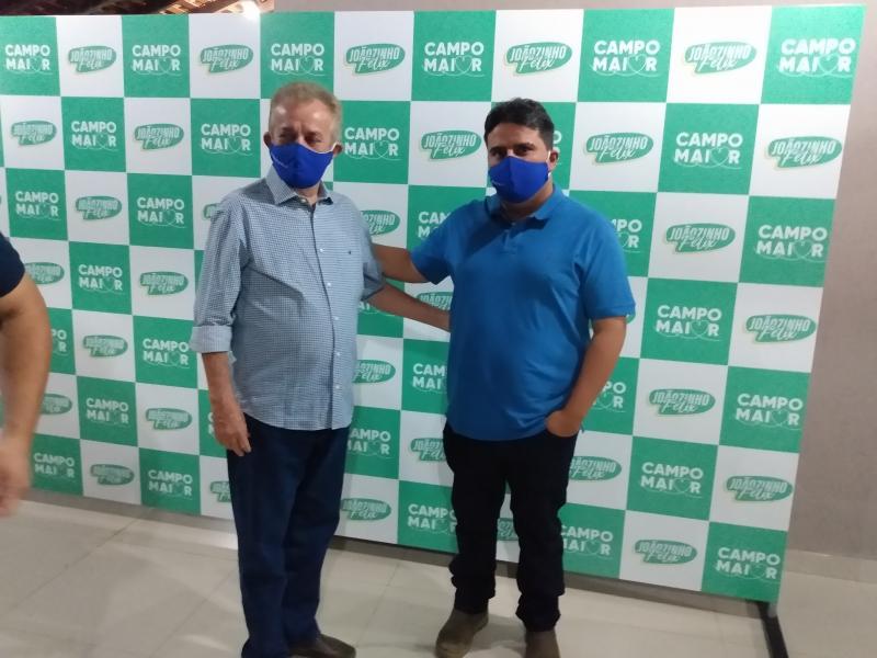 Campo maior-encontro entre Progressista Reafirma apoio de Humberto filho a João Félix
