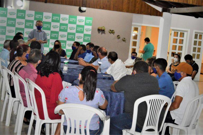 Joãozinho Félix reúne os Progressistas e mostra os nomes para vaga de vice