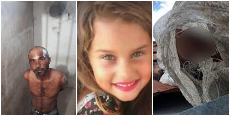 Criança é estuprada e achada morta dentro de saco em telhado de casa; Acusado foi preso