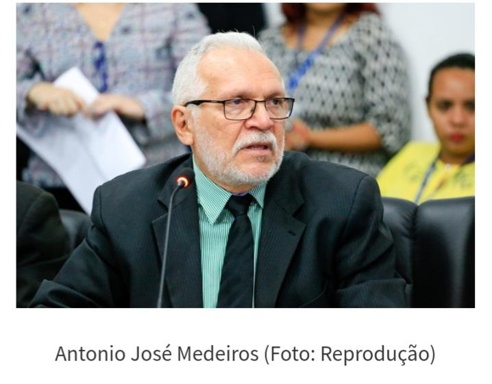 Petista Antônio José Medeiros desiste de ser pré canditado as eleições em União.