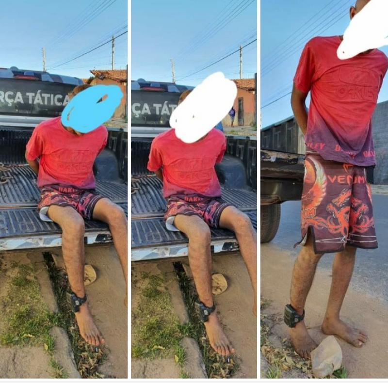 Polícia Militar captura Bandido por prática de vários roubos em farmácias em União