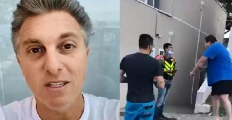 Luciano Huck presenteia motoboy vítima de ataque racista com moto zero km