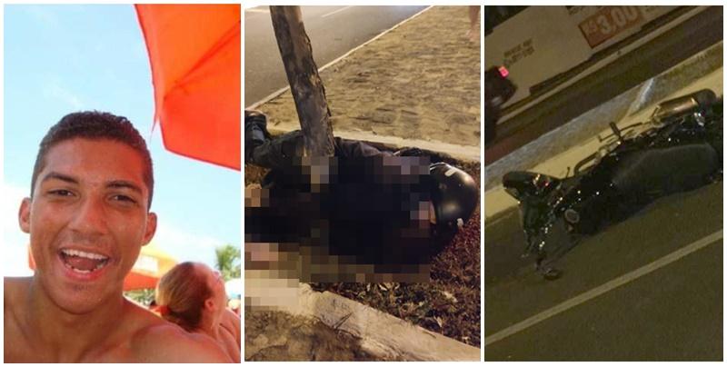 Jovem morre após colidir moto em árvore na zona leste de Teresina