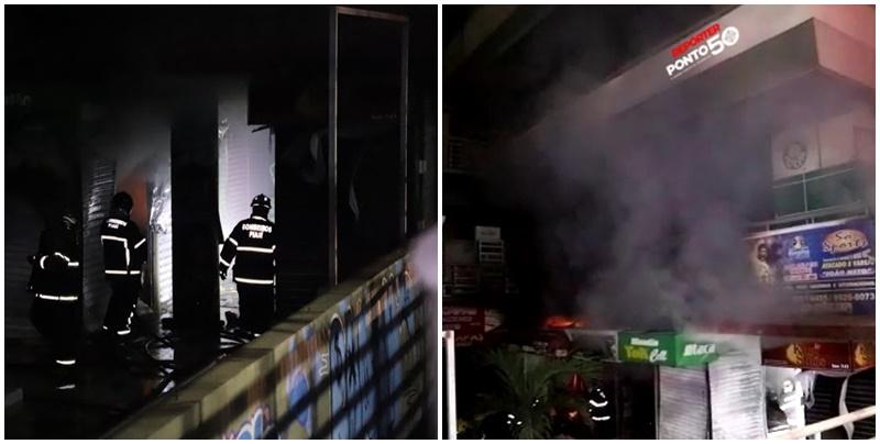Incêndio atinge Shopping da Cidade em Teresina e lojistas estimam prejuízo de mais de 300 mil reais