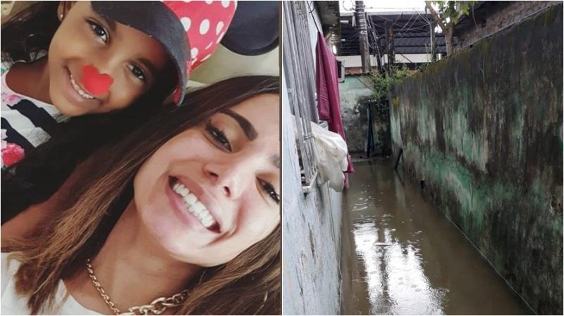 Sobrinha de 9 anos de Anitta vive em situação precária no Rio