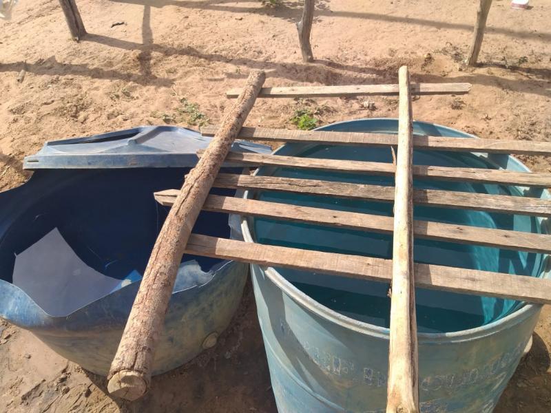 Dezenas de famílias vivem sem água encanada em Curralinhos (PI)