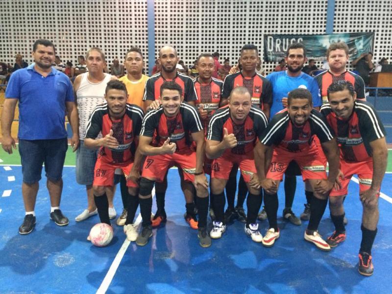 Time de Futsal Masculino de Cristalândia participa da grande final de campeonato em Corrente