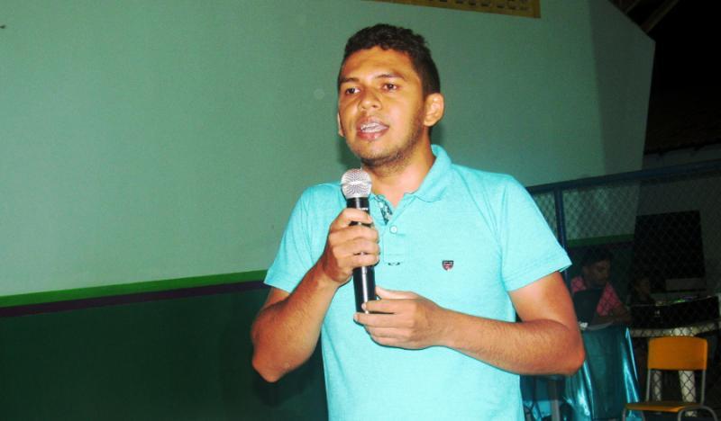Wilson Carvalho é o mais jovem pré-candidato a vereador do PT em São João do Arraial