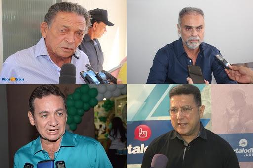 Três pré-candidatos protagonizam disputa eleitoral à Prefeitura de Picos