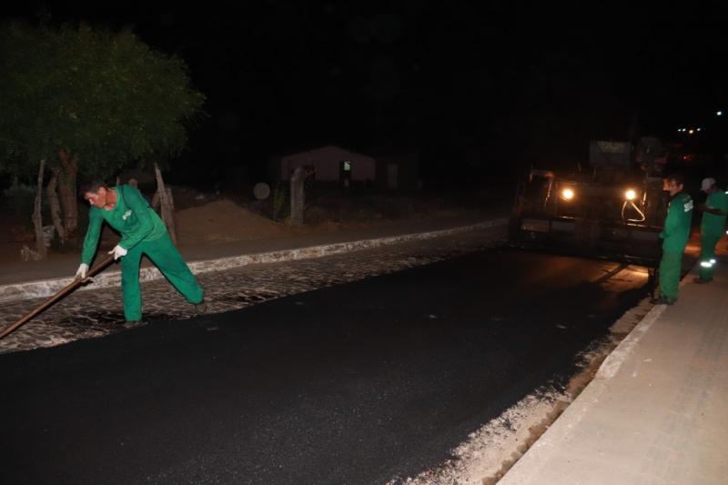 Prefeitura de Agricolândia Iniciou Obra de Pavimentação Asfáltica na Cidade