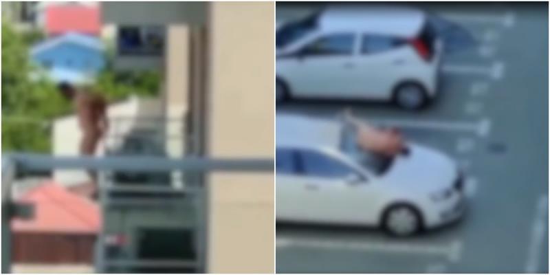"""Vídeo mostra o momento em que """"Ricardão"""" pula da varanda de apartamento; Cenas fortes"""