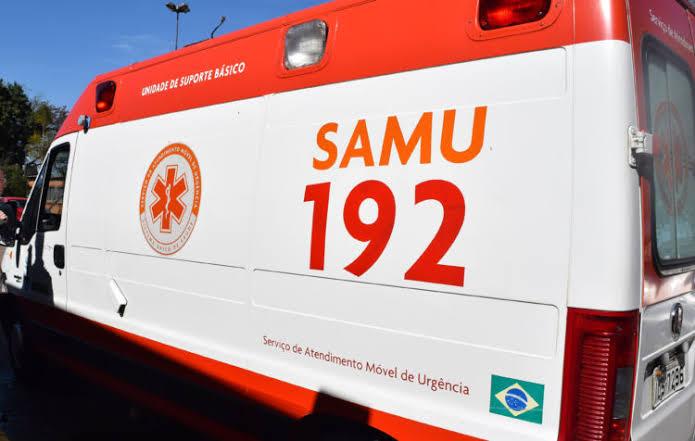 Colisão entre moto e carro deixa motoboy gravemente ferido em Teresina