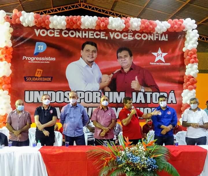 Convenção homologa candidaturas de Zé Carlos e Dr-Leonardo Tavares em Jatobá do Piauí