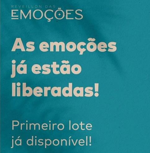 Reveillon das Emoções em Barra Grande !! Primeiro lote já disponível ! Confira as atrações !!