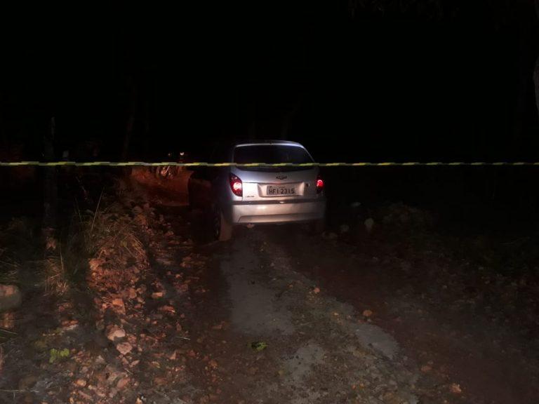 Homem não identificado é encontrado morto dentro do carro no Piauí