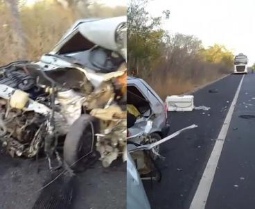 Tragédia! Grave acidente deixa três mortos na BR 230, no Piauí