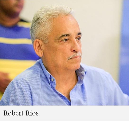 Robert Rios é internado com 50% do pulmão comprometido