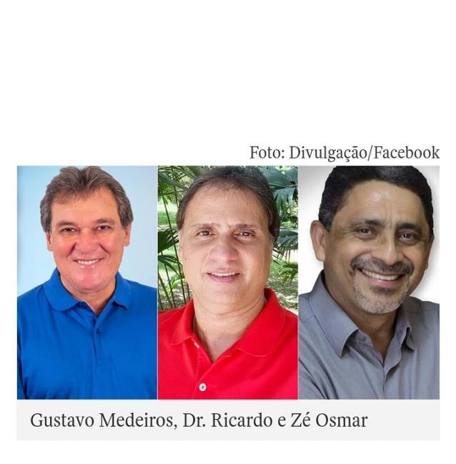 Gustavo Medeiros 52,50% e Dr. Ricardo 22,50%, aponta Instituto Credibilidade