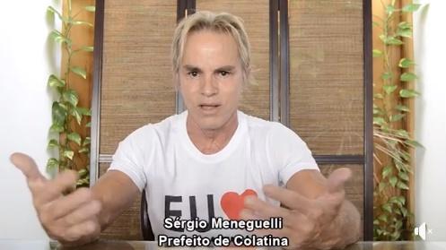 Sérgio Meneguelli decide que não será candidato à reeleição em Colatina