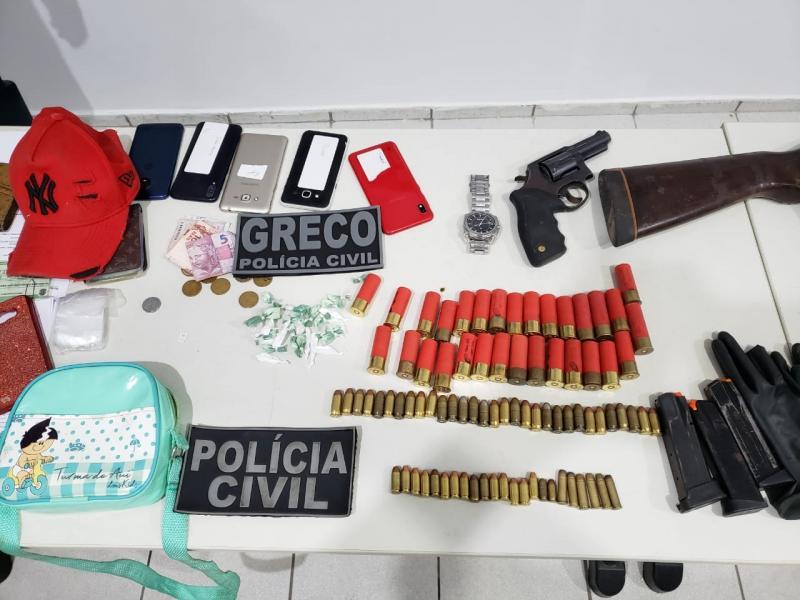 Quadrilha de assalto a bancos é presa pela Greco em Teresina