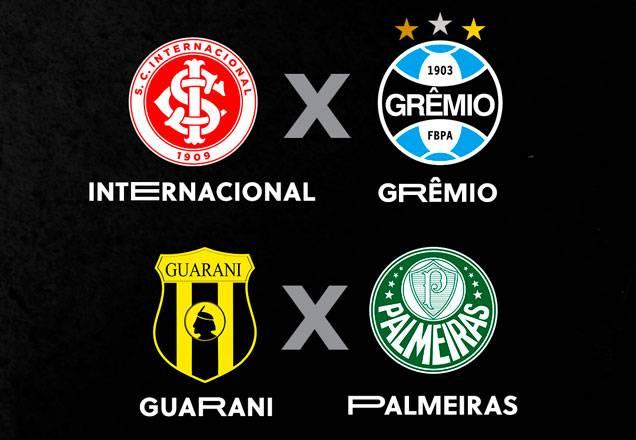 SBT transmite Grenal e jogo do Palmeiras contra o Guaraní-PAR nesta quarta