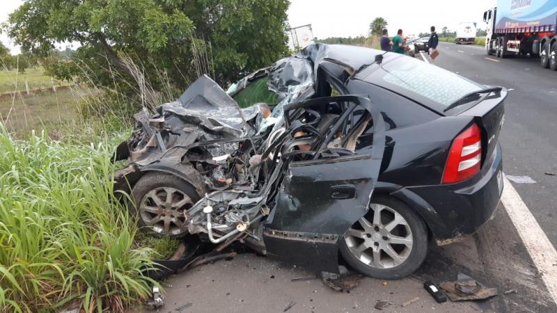Tragédia! Grave acidente deixa três pessoas mortas na BR 343, em Campo Maior