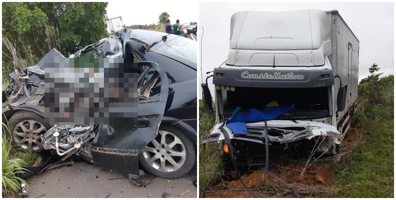 Divulgados nomes dos mortos em acidente na BR 343 em Campo Maior