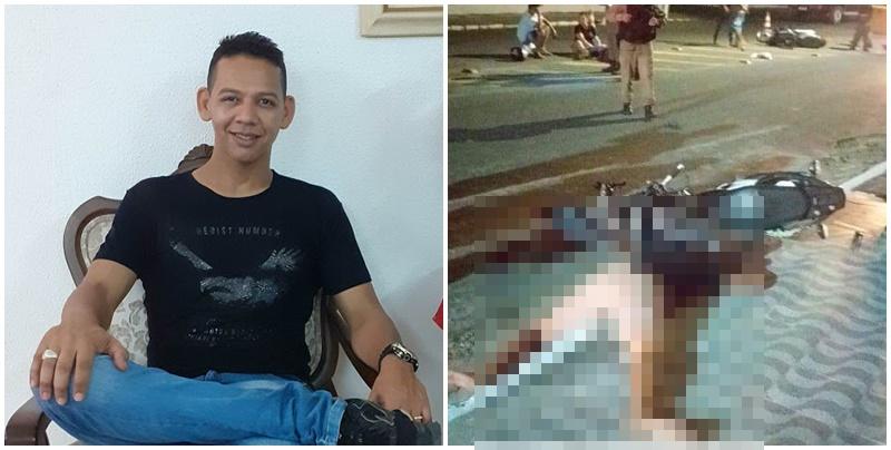 Professor morre e homem fica ferido durante colisão entre motos no Piauí