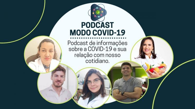 Grupo de pesquisa repassa informações sobre a COVID-19 em formato de podcast