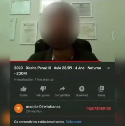 Professor pede para aluna abrir a câmera para vê-la nua; vídeo