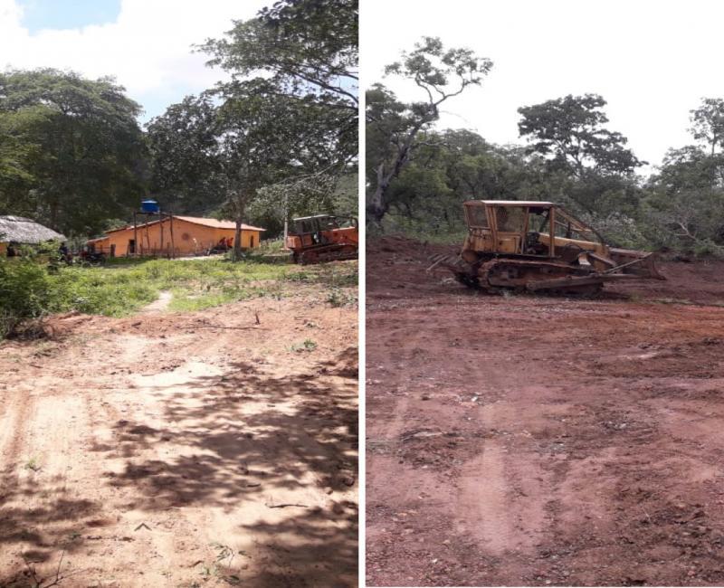 Recuperação e construção de novas estradas, na Zona Rural de Uruçuí
