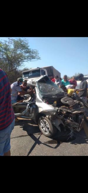 Ex-vereador de Redenção do Gurguéia sofre grave acidente na BR-135