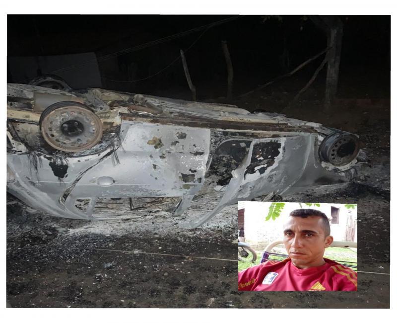 Homem Fica gravemente Ferido após capota carro na estrada de Jatoba-Pi
