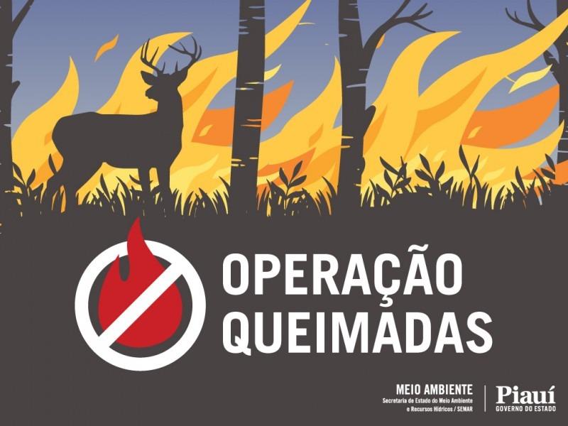 Secretário de Meio Ambiente de Redenção do Gurguéia participa do lançamento da Operação Queimadas