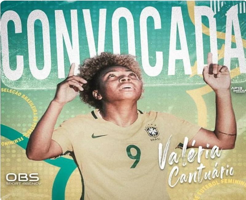 Unionense é convocada para a seleção feminina e vai treinar para Jogos Olímpicos