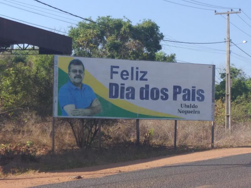 Perseguição Política: Justiça nega pedido de Osvaldo Bonfim para retirar outdoor de Ubaldo Nogueira