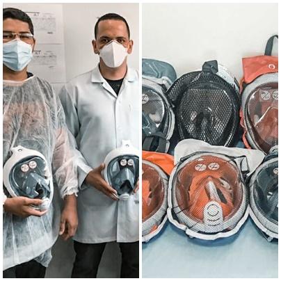 HRJL e FEPISERH recebem doação de máscaras de VNI para o tratamento da covid-19