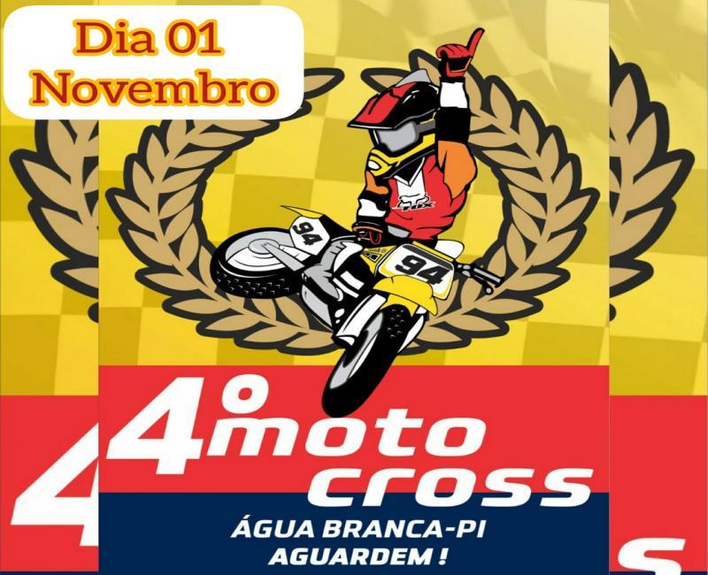 Comunidade Angicos - Água Branca-PI/Lagoinha -PI sediarão mais uma edição de Motocross.