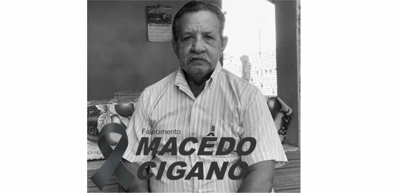 Morre em Cocal de Telha Macêdo9 Cigano pai do Vereador Gerson Cigano