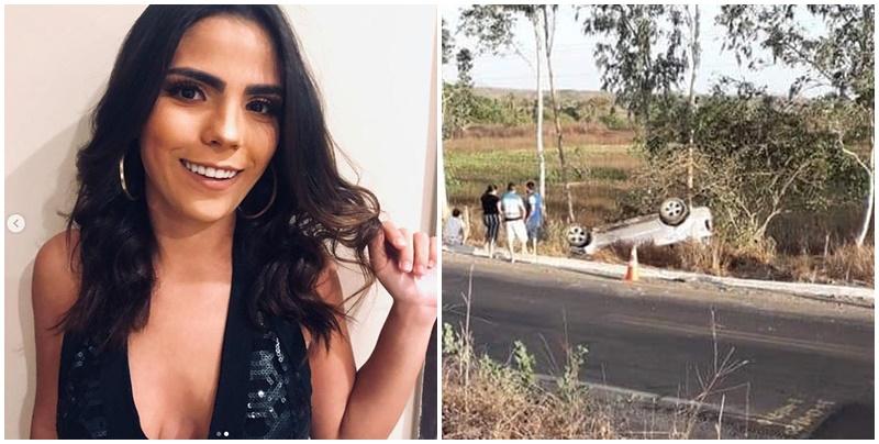 Filha de ex-prefeitos morre em acidente de carro na BR-222