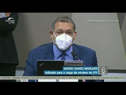 Piauiense que deve ocupar cargo de ministro do STF é sabatinado no Senado