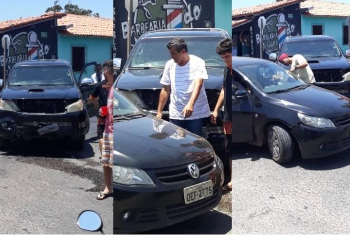 Candidato a vice-prefeito Tererê se envolve em acidente em Parnaíba