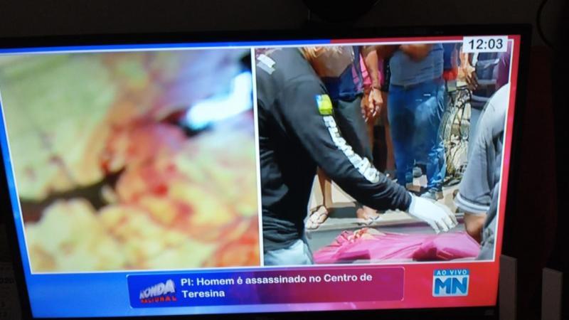 Homem é morto a pedradas em motel no Centro de Teresina