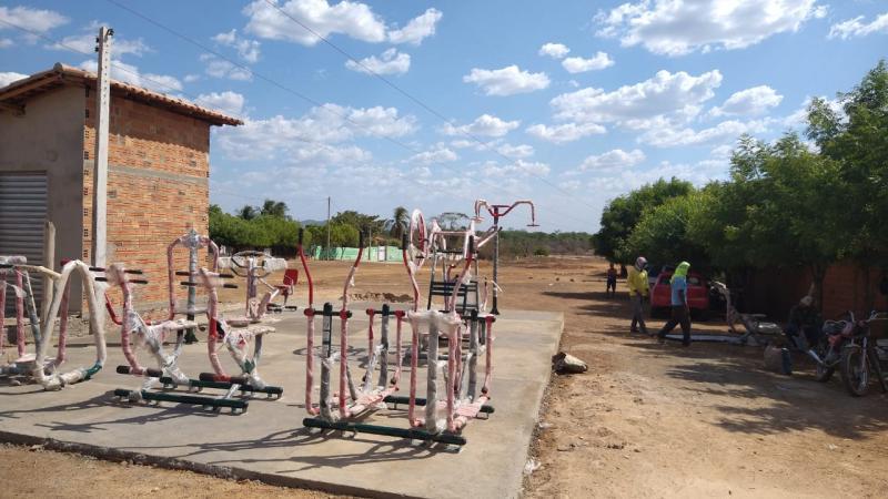 Terceira Academia ao Ar Livre é instalada no bairro Flor do Campo em Campo Maior