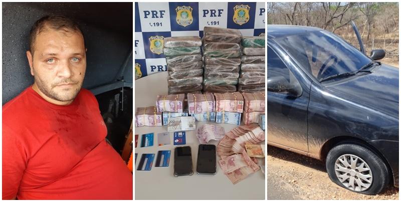 PRF prende homem com cocaína avaliada em R$ 3 milhões na PI 130