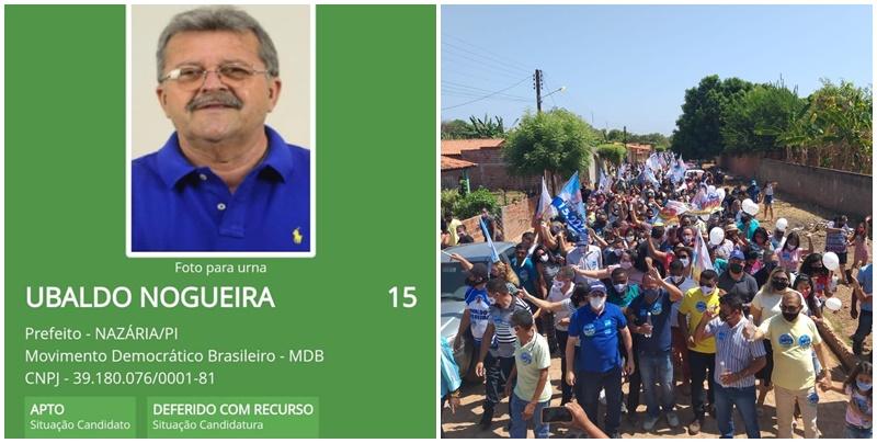 Ubaldo Nogueira tem candidatura a prefeito deferida